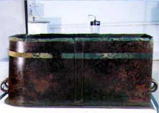 Bronze coffin