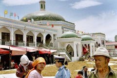 Kashgar, the new indoor bazaar